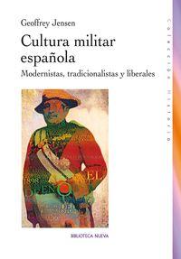 CULTURA MILITAR ESPAÑOLA: portada