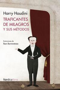 Traficantes de milagros y sus métodos: portada