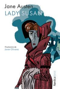 Lady Susan (edición en catalán): portada