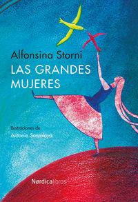 Las grandes mujeres (2ª edición): portada