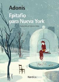Epitafio para Nueva York (2.ª EDICIÓN): portada