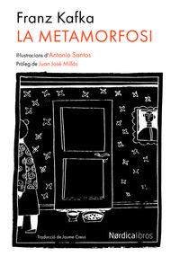 La metamorfosi (edición en catalán): portada