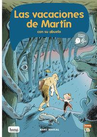 Las vacaciones de Martín y su abuelo: portada