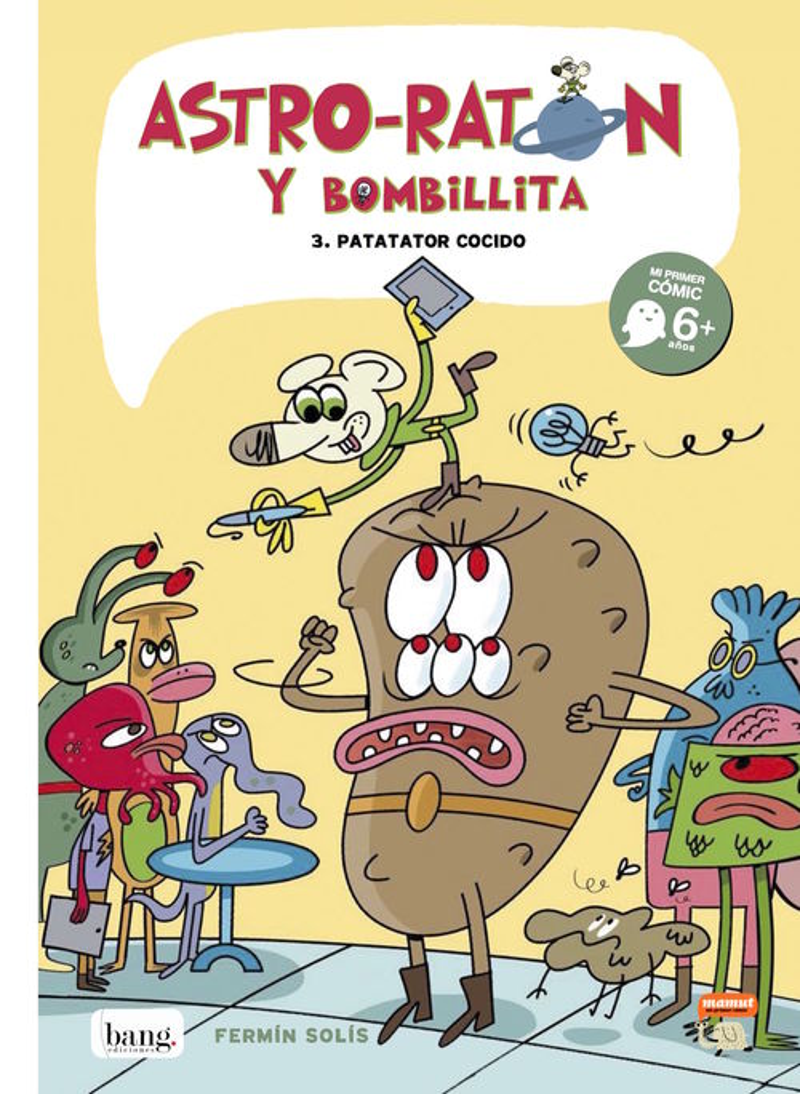 Astro-Ratón y Bombillita 3: portada