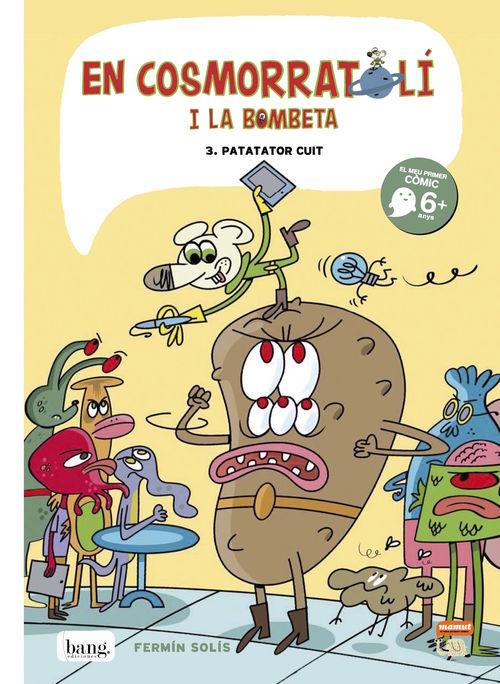 En Cosmorratolí i la Bombeta 3: portada