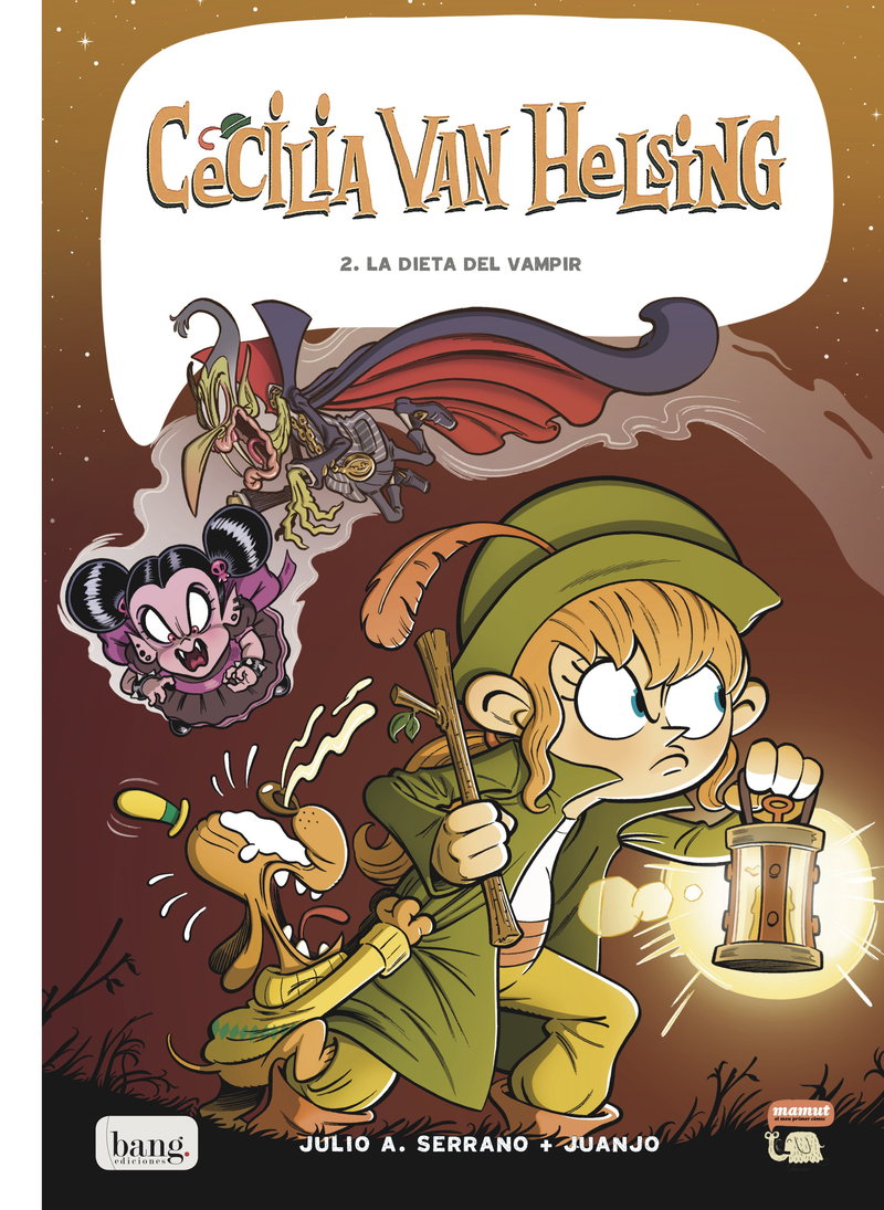 Cecília Van Helsing, vol. 2: portada