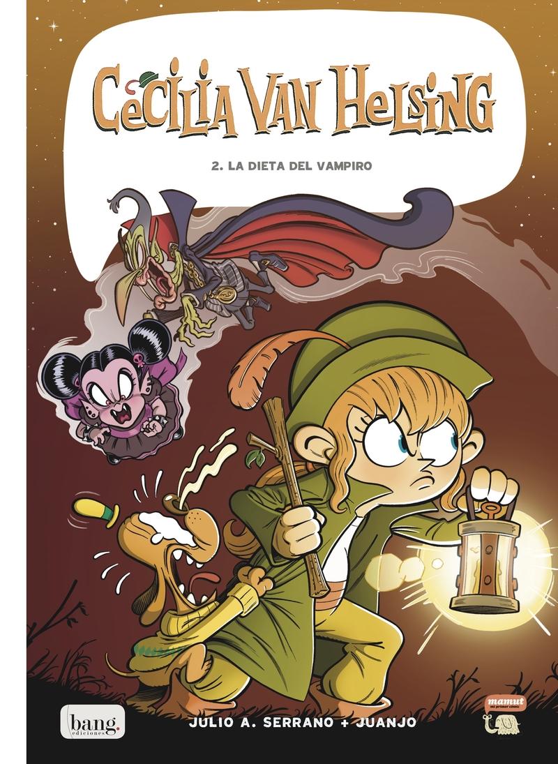 Cecilia Van Helsing, tomo 2: portada