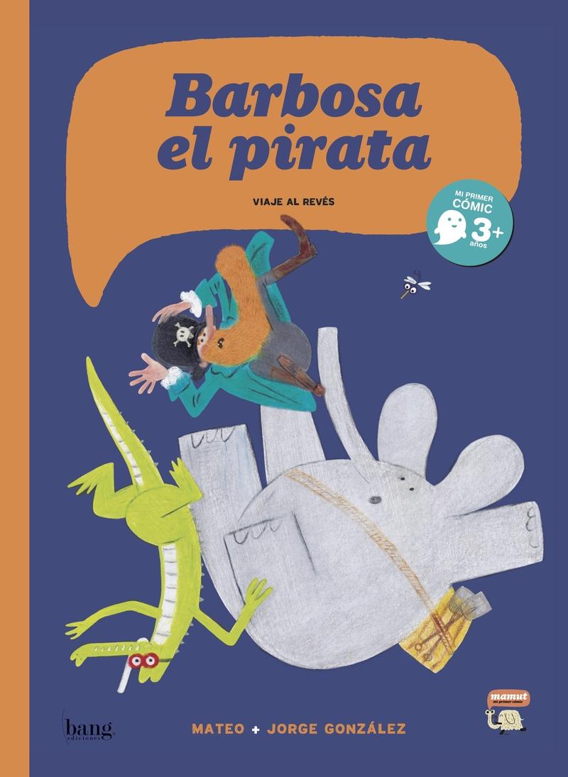 Barbosa el pirata: portada