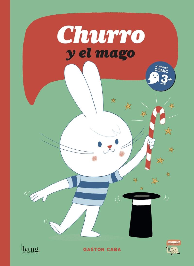 Churro y el mago: portada