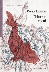 Horror vacui: portada