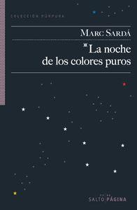 La noche de los colores puros: portada