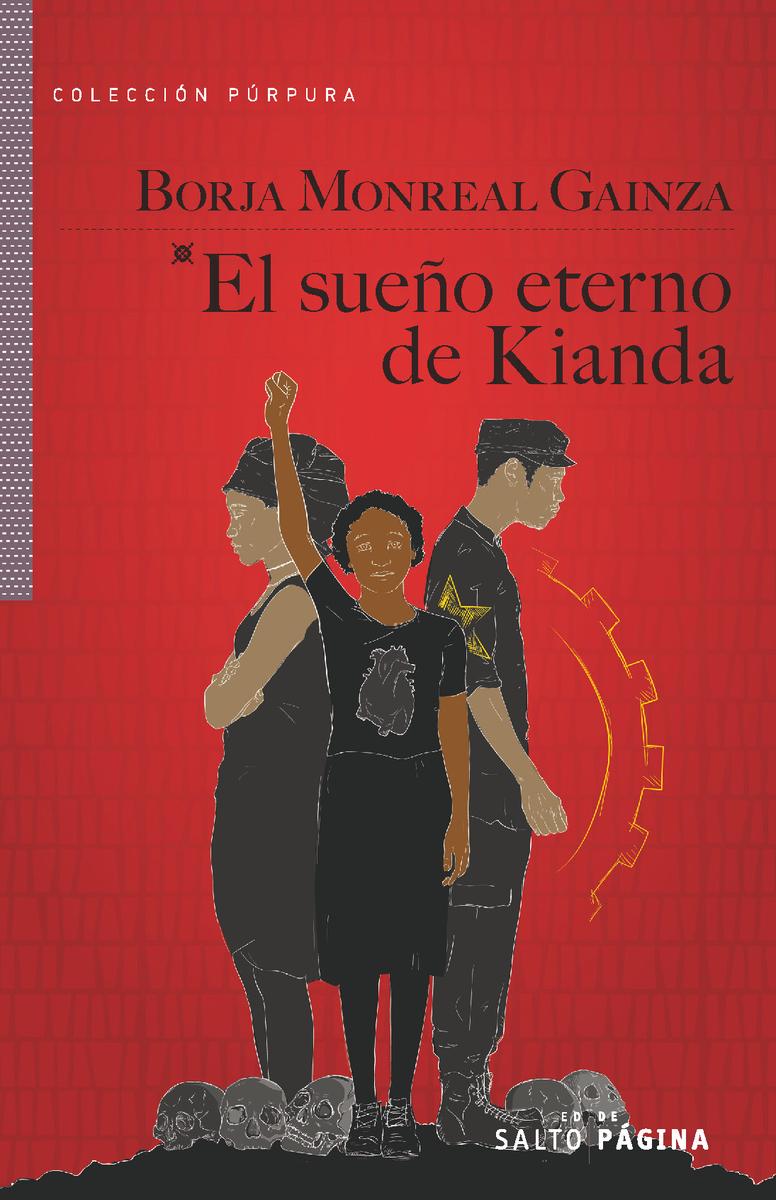 El sueño eterno de Kianda: portada