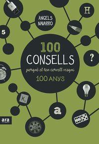 100 CONSELLS PERQUÈ EL TEU CERVELL VISQUI CENT ANYS: portada