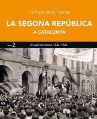 SEGONA REPÚBLICA A CATALUNYA II, LA: portada