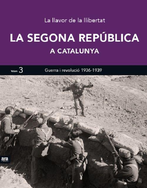 SEGONA REPÚBLICA A CATALUNYA III, LA: portada