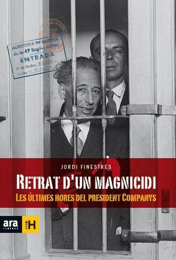 RETRAT D'UN MAGNICIDI: portada