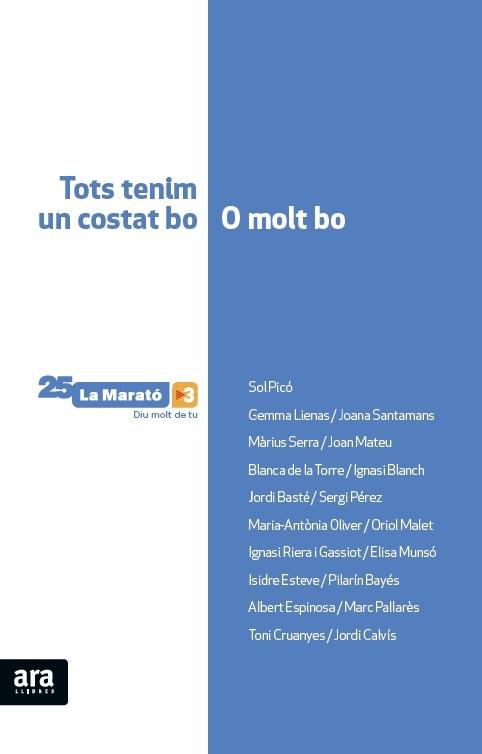 EL LLIBRE DE LA MARATÓ, 2a Ed: portada