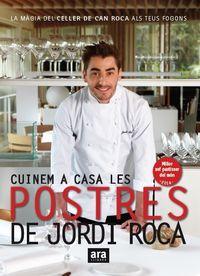 CUINEM A CASA LES POSTRES DE JORDI ROCA - RÚSTEGA: portada