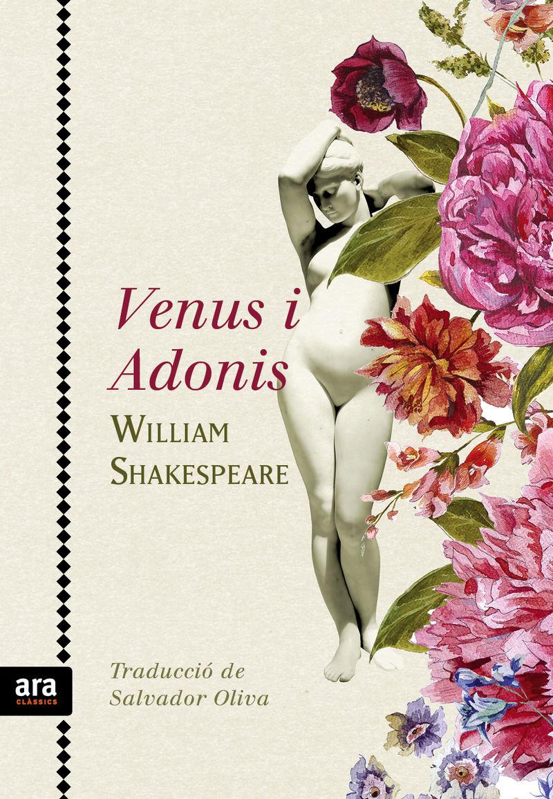 VENUS I ADONIS: portada