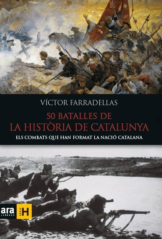 50 BATALLES DE LA HISTÒRIA DE CATALUNYA: portada
