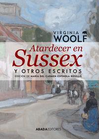 ATARDECER EN SUSSEX Y OTROS ESCRITOS: portada