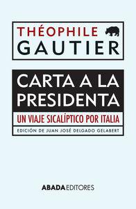 CARTA A LA PRESIDENTA: portada