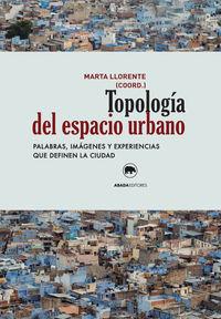 Topología del espacio urbano: portada