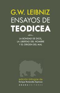 ENSAYOS DE TEODICEA: portada