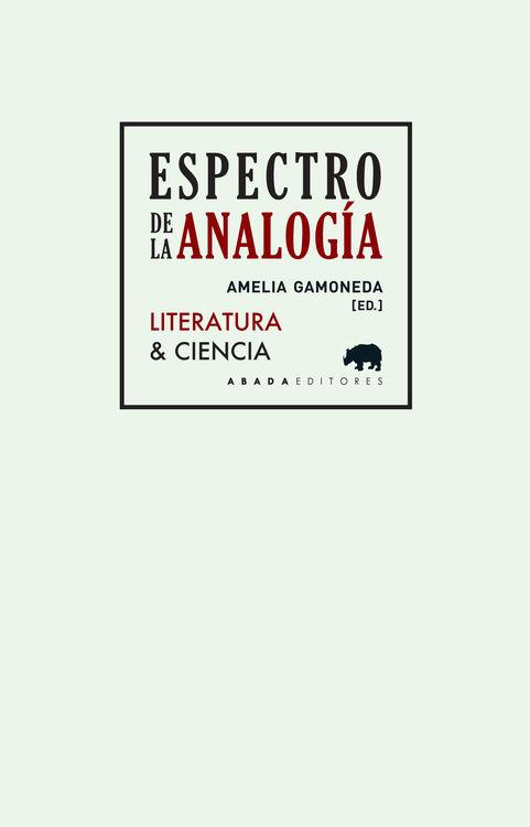 ESPECTRO DE LA ANALOGíA: portada