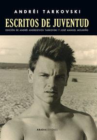 ESCRITOS DE JUVENTUD: portada