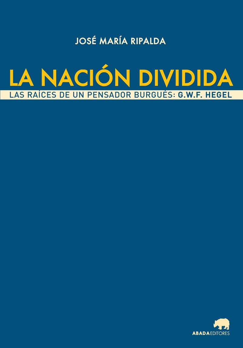 LA NACIóN DIVIDIDA: portada