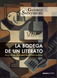LA BODEGA DE UN LITERATO: portada