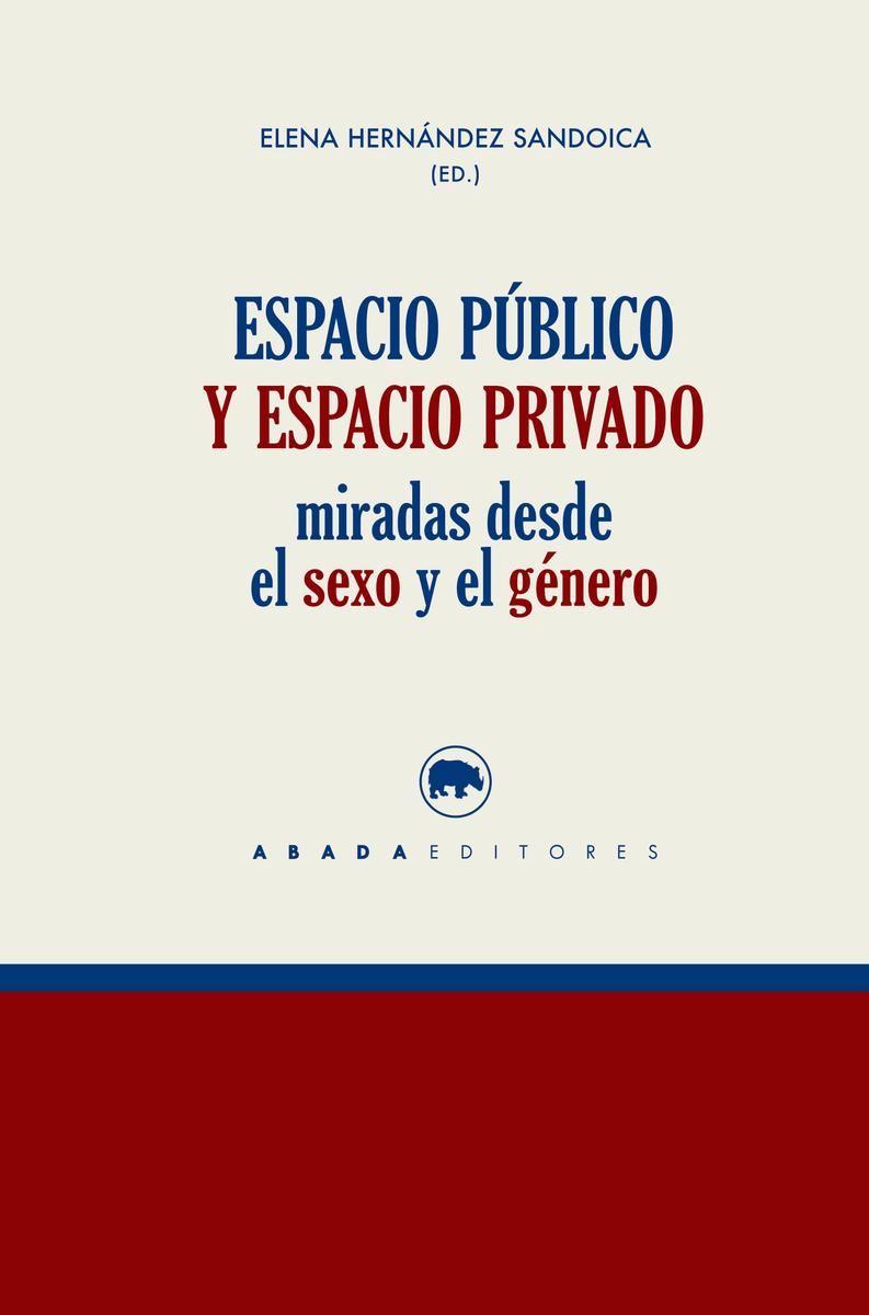 ESPACIO PúBLICO Y ESPACIO PRIVADO: portada