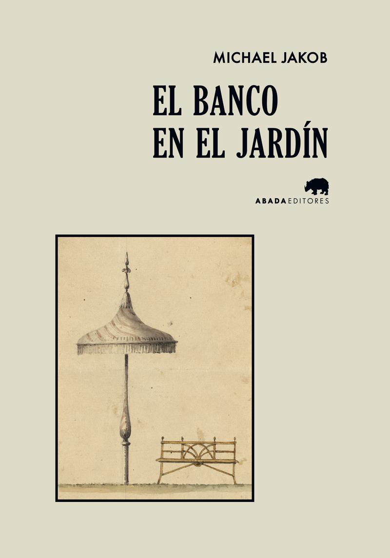 EL BANCO EN EL JARDíN: portada