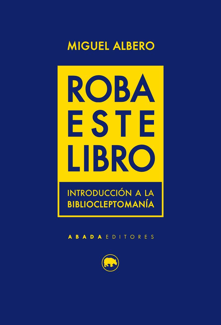 ROBA ESTE LIBRO: portada