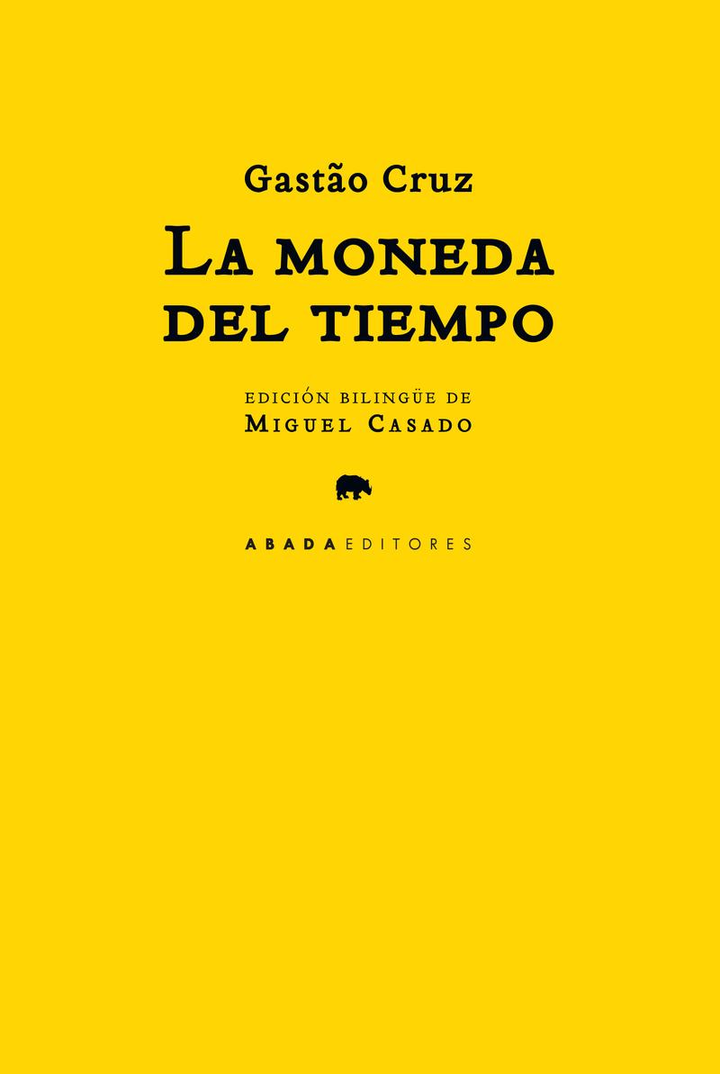 LA MONEDA DEL TIEMPO: portada