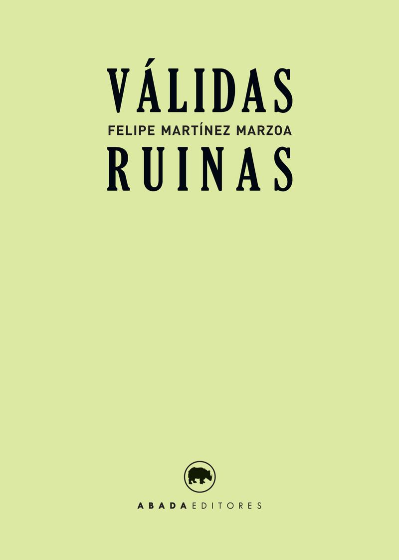 VáLIDAS RUINAS: portada