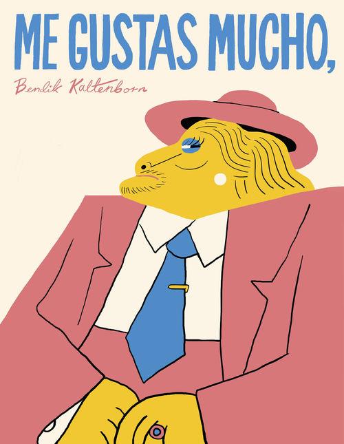 ME GUSTAS MUCHO, BENDIK KALTENBORN: portada