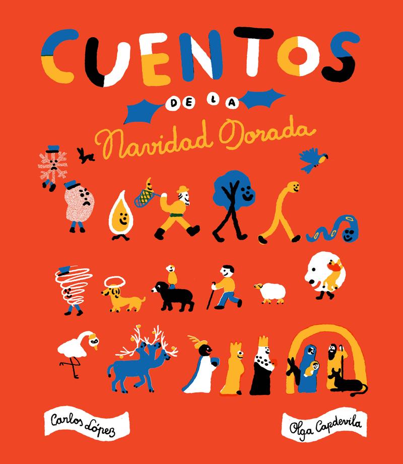 CUENTOS DE LA NAVIDAD DORADA: portada