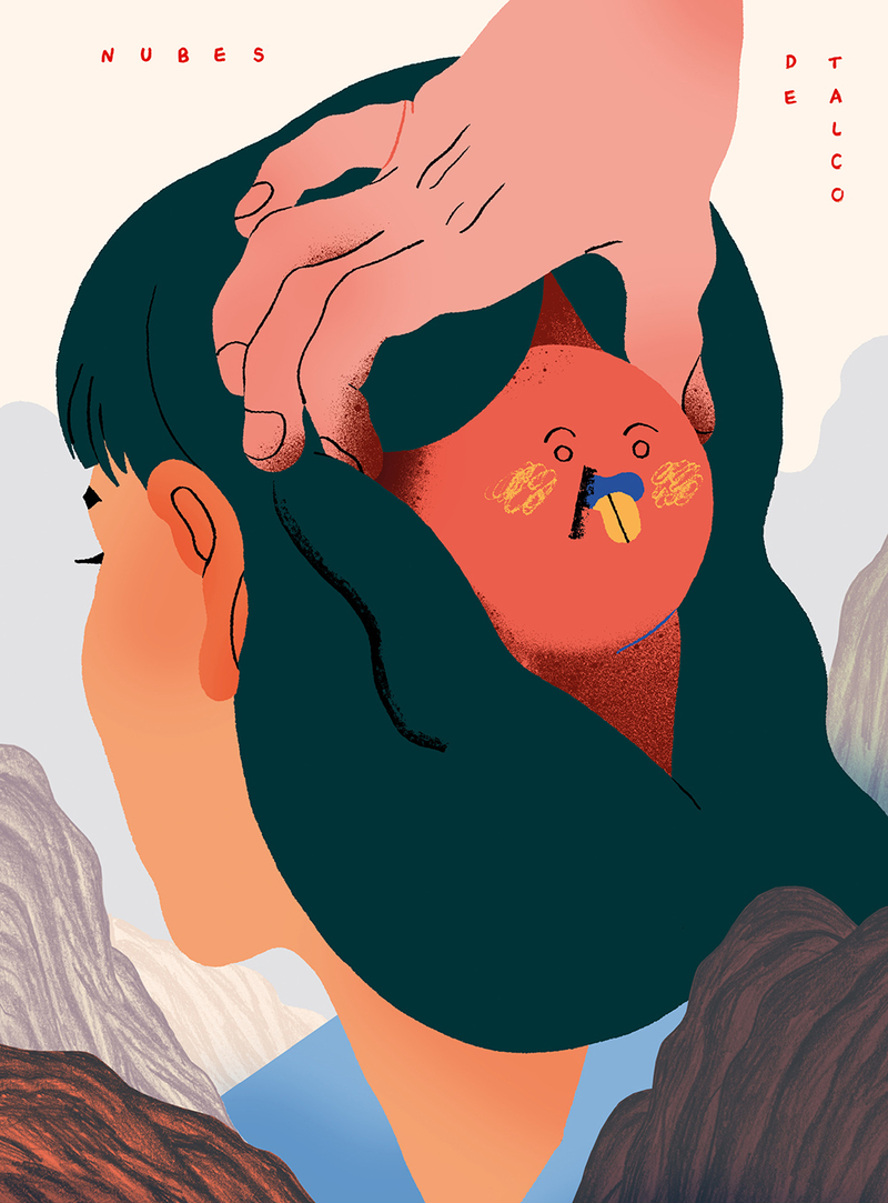 NUBES DE TALCO: portada