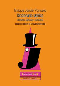 DICCIONARIO SAT�RICO: portada