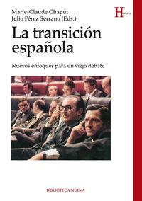 LA TRANSICIÓN ESPAÑOLA: portada