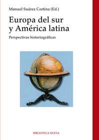 EUROPA DEL SUR Y AMÉRICA LATINA: portada