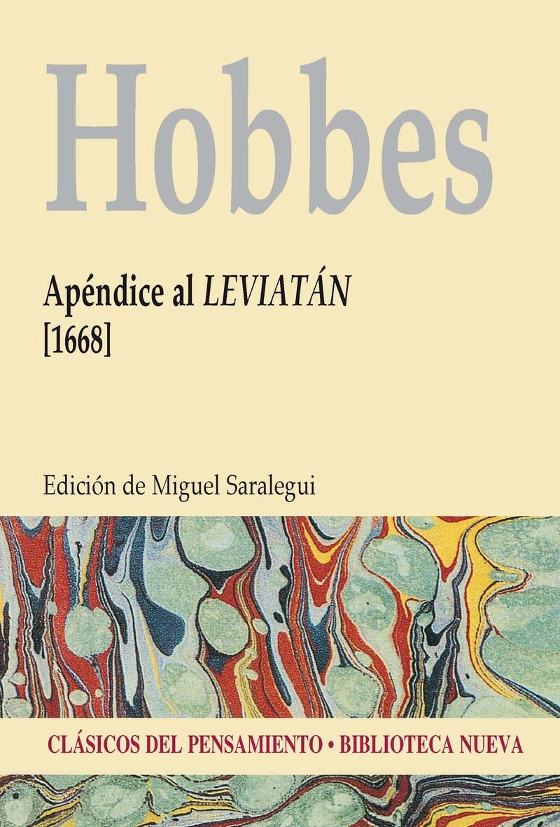 AP�NDICE AL LEVIAT�N (1668): portada