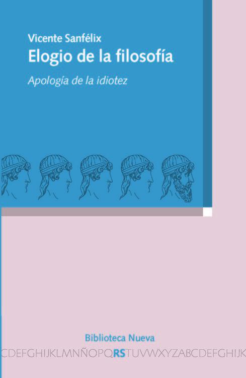 ELOGIO DE LA FILOSOFÍA: portada