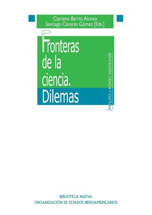 FRONTERAS DE LA CIENCIA. DILEMAS: portada