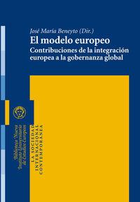 EL MODELO EUROPEO: portada