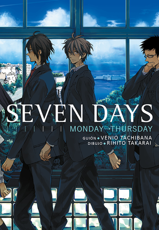 Seven days, vol.1: portada