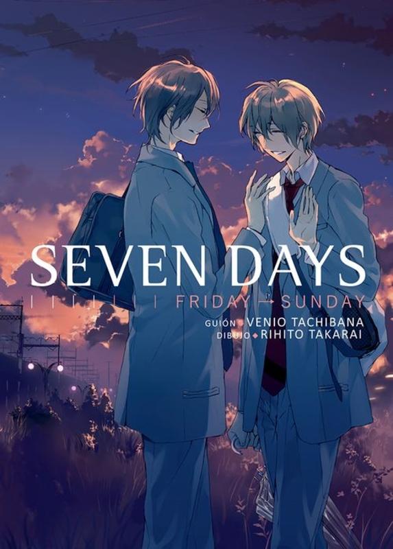 Seven days, vol.2: portada