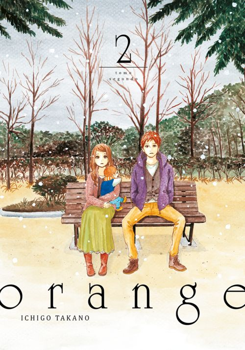 orange, vol.2: portada